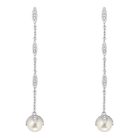 Thomas Sabo Silver Pearl Long Earrings