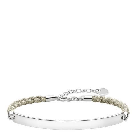 Thomas Sabo Beige Magic Love Bridge Bracelet 19.5cm