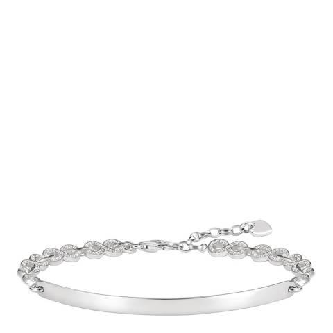Thomas Sabo Silver Sparkling Love Bridge Bracelet 19.5cm