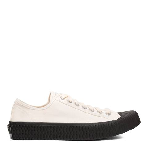 Excelsior White Black Sole Bolt LO Sneakers