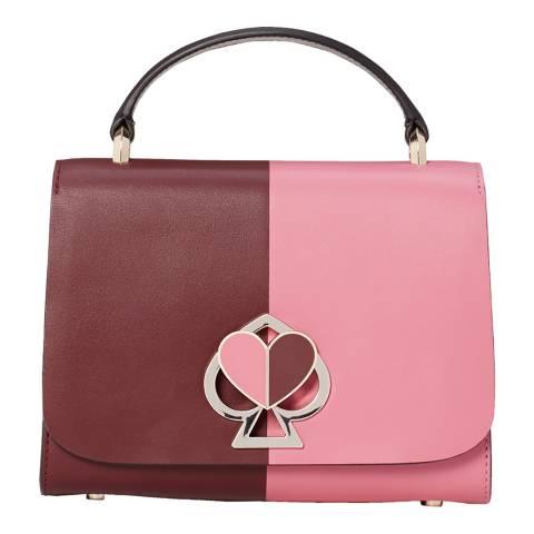 Kate Spade Cherry Pink Small Nicola Top Handle Bag