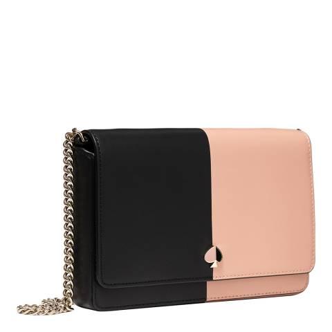 Kate Spade Black Two Tone Chain Wallet