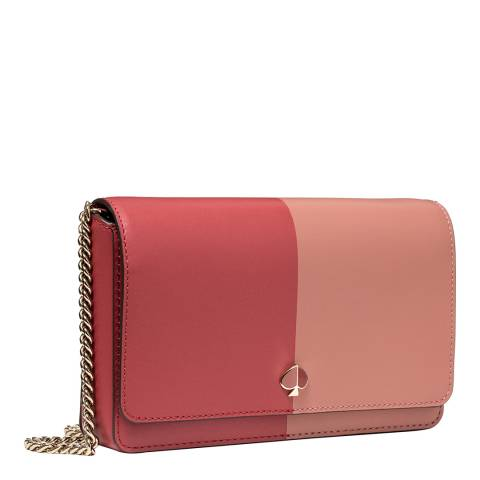 Kate Spade Red Two Tone Chain Wallet