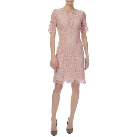 HUGO Pink Kalissy Lace Dress