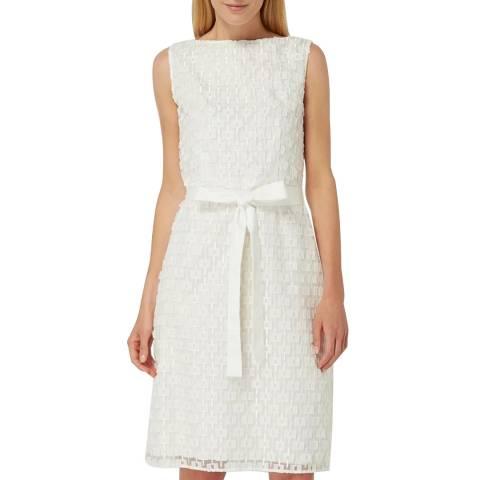 BOSS Off White Delinina Dress