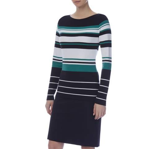 BOSS Blue Stripe Elive Top