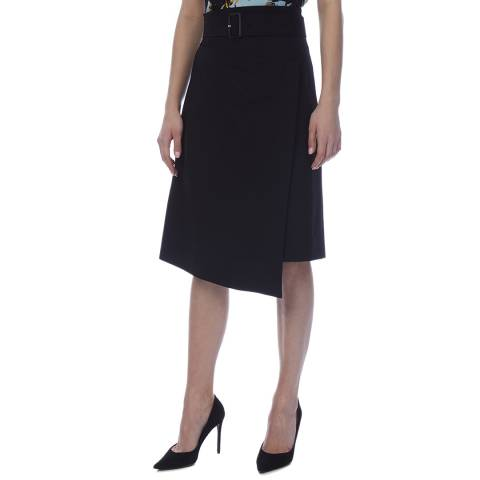 BOSS Black Vinaya Belted Skirt