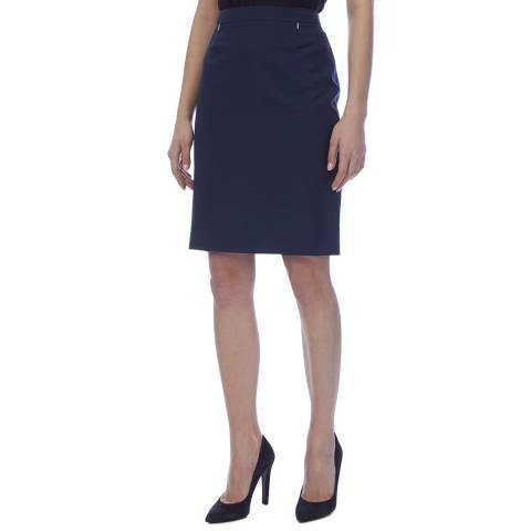 BOSS Navy Vimondi Pencil Skirt