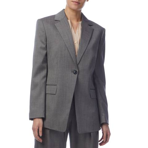 BOSS Grey Janera Suit Jacket