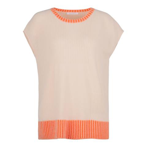 Duffy NY Pink Relaxed Cashmere Tank Top