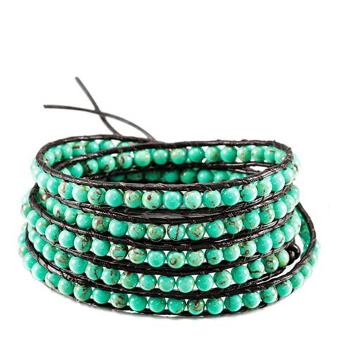 Liv Oliver Turquoise Multi Wrap Bracelet