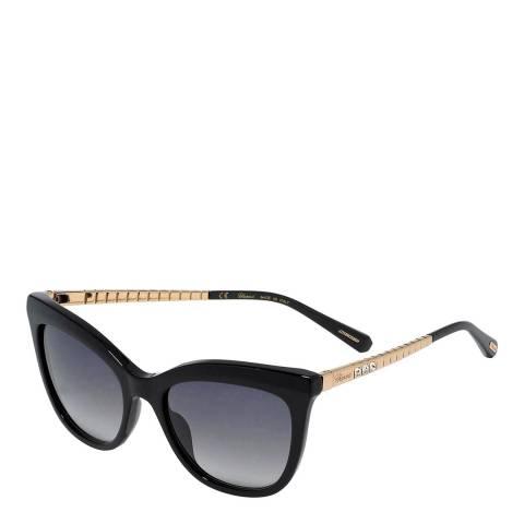Chopard Women's Black Chopard Sunglasses 54mm