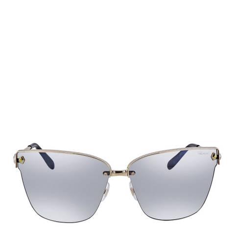 Chopard Women's Silver Chopard Sunglasses 65mm