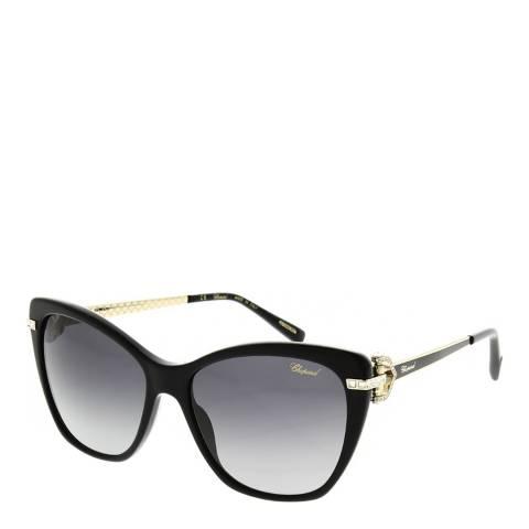 Chopard Women's Black Chopard Sunglasses 55mm