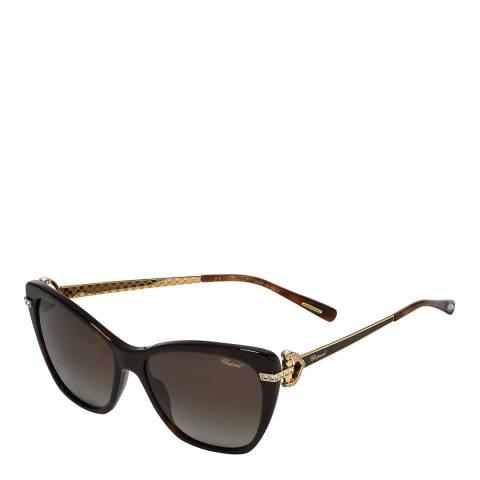 Chopard Unisex Brown Chopard Sunglasses