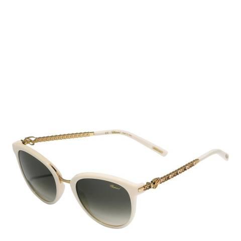 Chopard Women's Beige Chopard Sunglasses 53mm