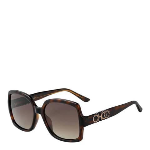 Jimmy Choo Women's Brown Jimmy Choo Sunglasses 55mm