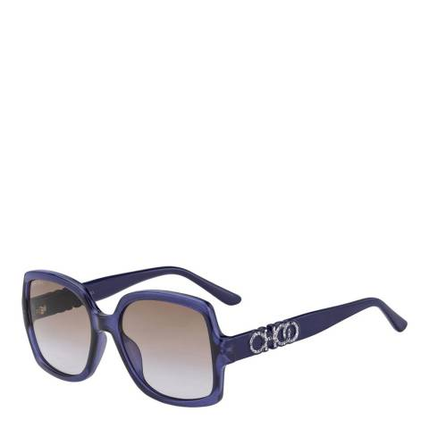 Jimmy Choo Women's Purple Jimmy Choo Sunglasses 55mm