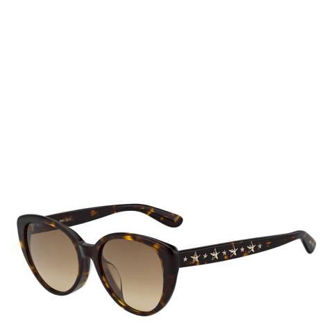 Jimmy Choo Women's Brown Jimmy Choo Sunglasses 54mm