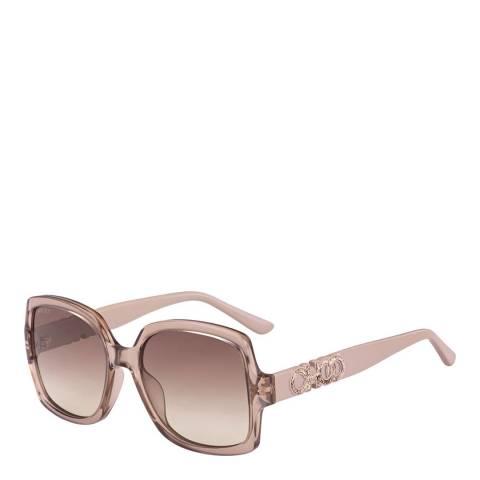 Jimmy Choo Women's White Jimmy Choo Sunglasses 55mm