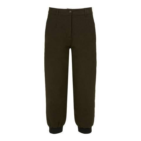 Le Chameau Women's Green Malmesbury Breeks Trousers
