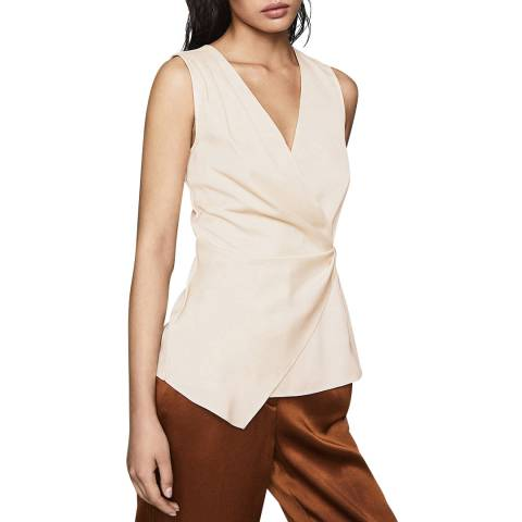 Reiss Nude Wendy Hardware Top