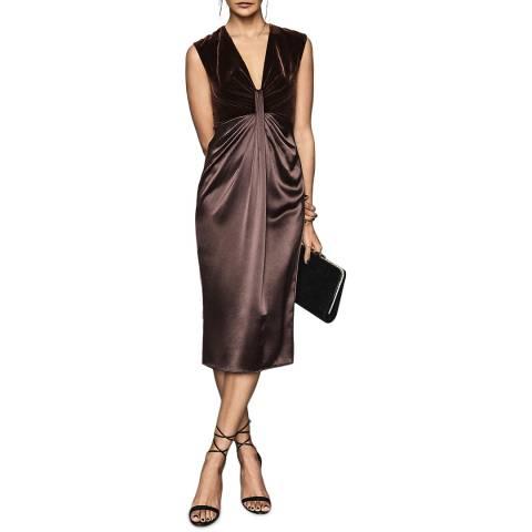 Reiss Berry Livvy Plunge Dress