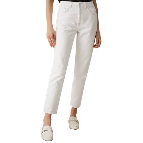 Reiss White Blake Slim Jeans