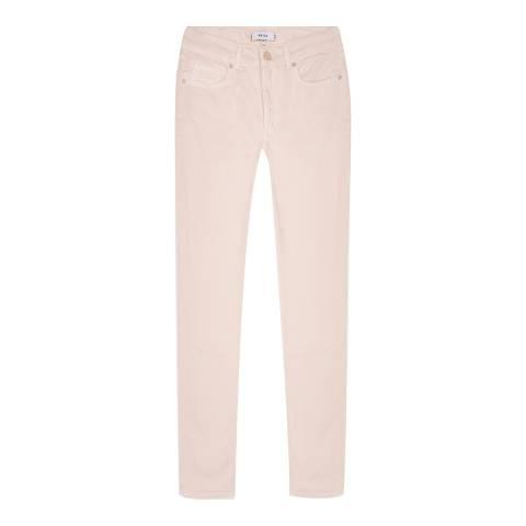 Reiss Pale Pink Blake Slim Jeans
