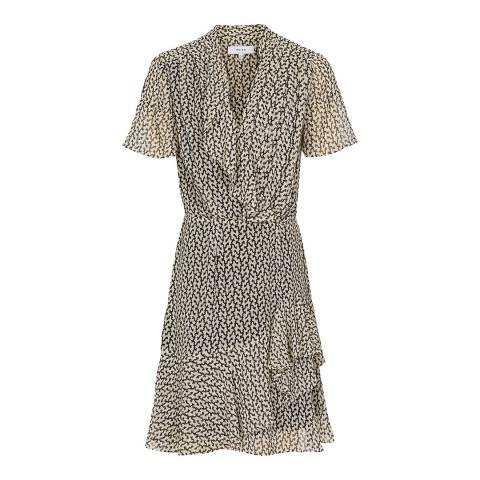 Reiss Multi Paris Desert Print Dress