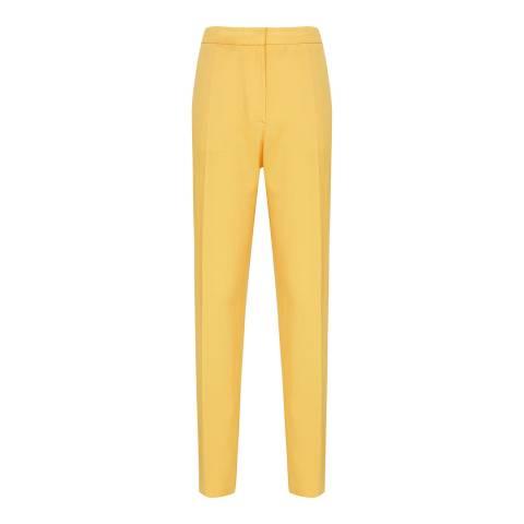 Reiss Yellow Haya Slim Trousers