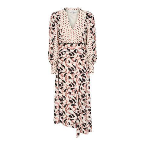 Reiss Multi Emmi Print Dress