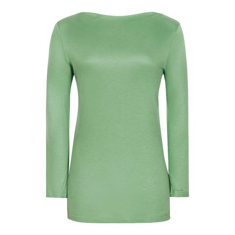 Reiss Green Marilyn Top
