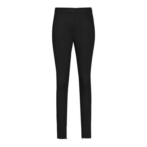 Reiss Black Darlas Skinny Stretch Trousers