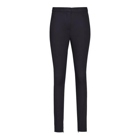Reiss Navy Darlas Skinny Stretch Trousers