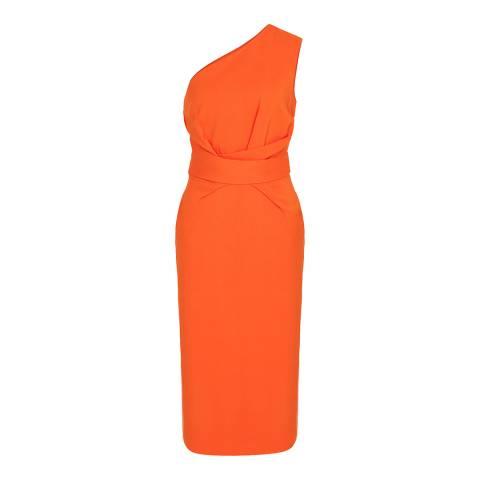 Reiss Orange Laurent Midi Dress