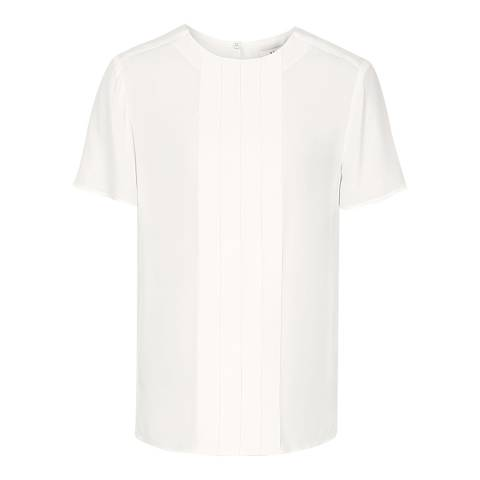Reiss Off White Jax Top