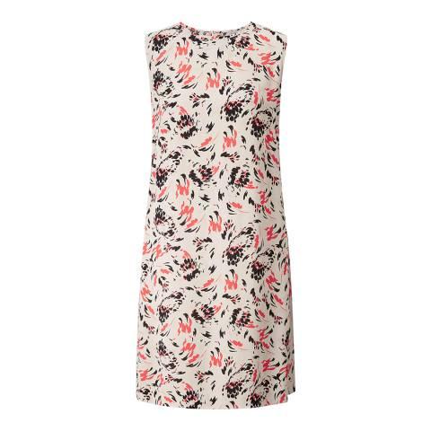 Jigsaw Beige Scattered Petal Dress