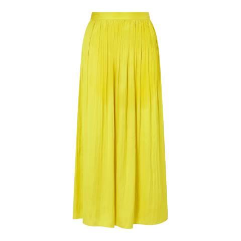 Jigsaw Yellow Crocus Drape Skirt
