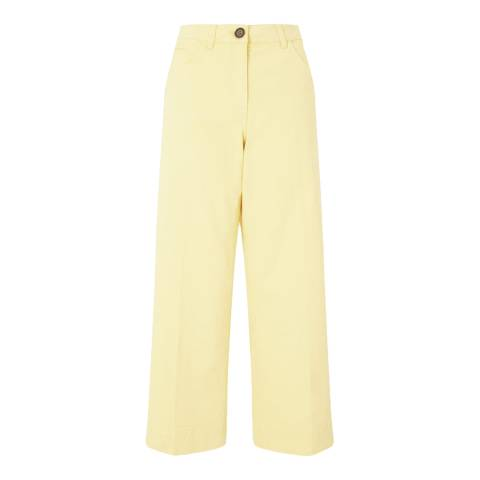 Jigsaw Yellow Hoxton Chinos