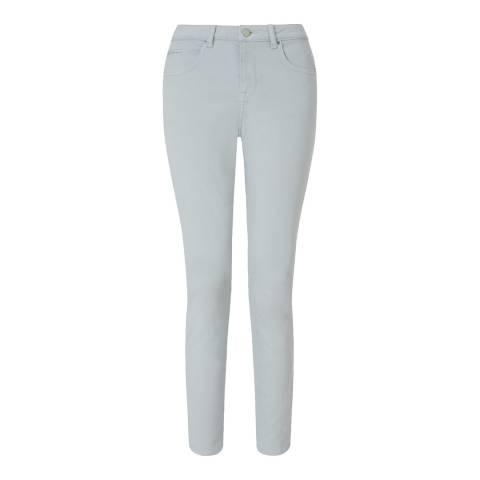 Jigsaw Pale Gret Garment Dye Richmond Jeans