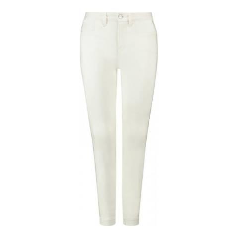 NYDJ White Ami Skinny Ankle Jeans