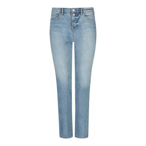 NYDJ Light Blue Sheri Slim Stretch Jeans