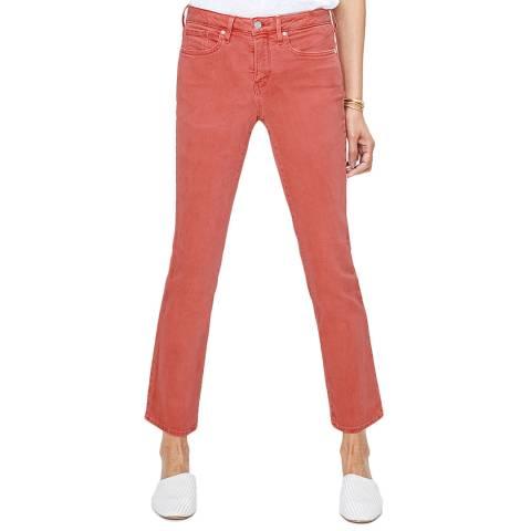 NYDJ Red Sheri Slim Ankle Jeans