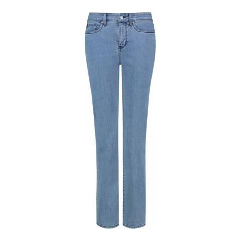 NYDJ Blue Marilyn Straight Leg Jean