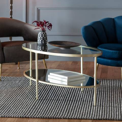Gallery Hudson Coffee Table, Champagne