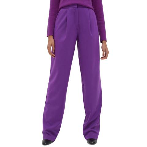 Chinti and Parker Purple Pop Trouser