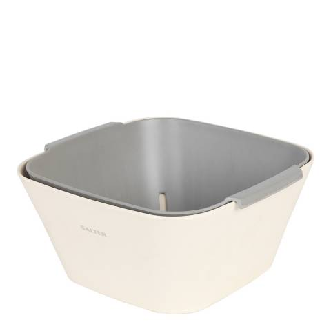 Salter 2 Piece Square Colander and Bowl