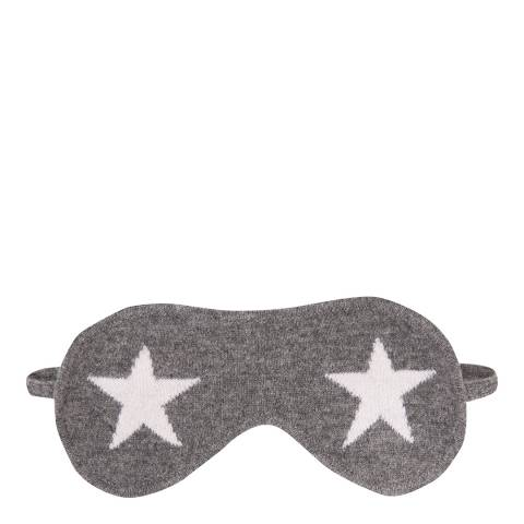 Laycuna London Grey/White Star Eye Mask