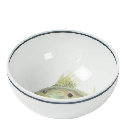 Jersey Pottery Set of 4 Small John Dory Seaflower Bowls, 11cm